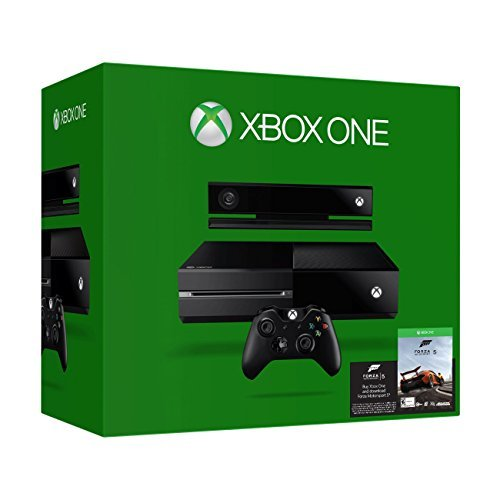 Xbox One 500GB Console with Kinect and Forza Motorsport 5