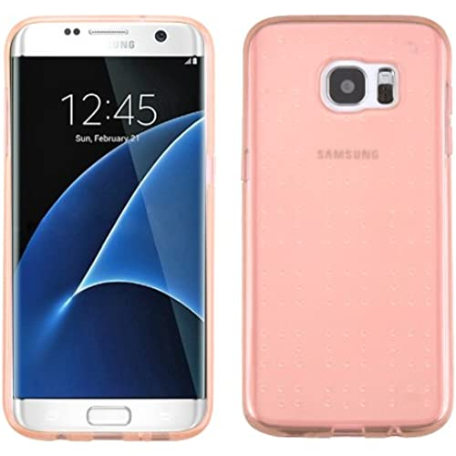 Samsung Galaxy S7 Edge G935 Case, Kaleidio [SPOTS] Flexible See-Thru TPU Gel Spots Skin Cover [Includes a Overbrawn Sales
