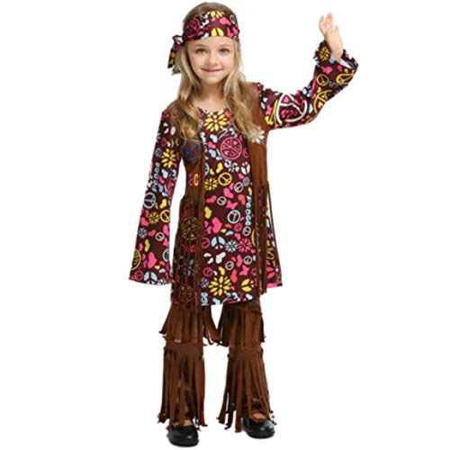 (Halloween Costume for Children's Revelers Hip Hop Caveman Cosplay Costumes)