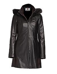 Faam Collection Short Body Leather Jacket For Women - Women's Lambskin Leather Jacket