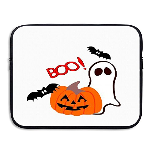 (CHERINA RHEA Computer Bag Laptop Case Slim Sleeve Bag Halloween Monster Fantasmas Waterproof 13-15 Inch For IPad Air Macbook Pro Surface Book Notebook)