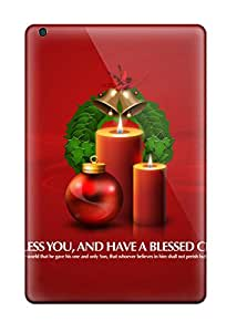 Richard V. Leslie's Shop Best Premium Protection God Bless You Christmas Gifts Case Cover For Ipad Mini- Retail Packaging
