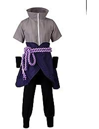 Naruto Uchiha Sasuke Ninja The 6th Generation Cosplay Costume mp003607
