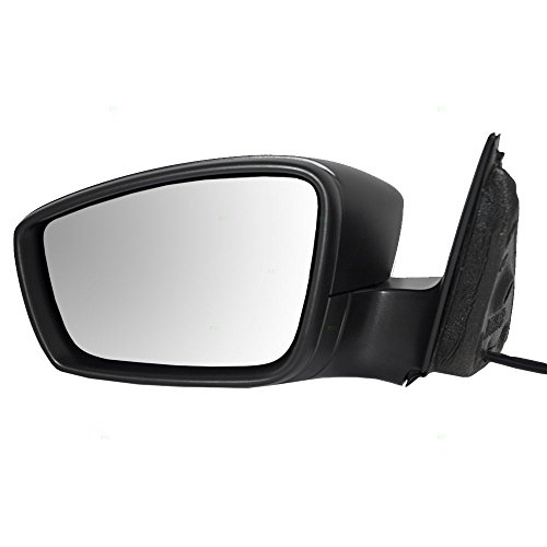 Drivers Manual Remote Side View Mirror Textured Replacement for Volkswagen Jetta & Hybrid 5C78575079B9