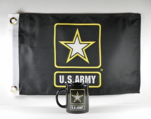 US Army Star Coffee Mug/Cup with 12