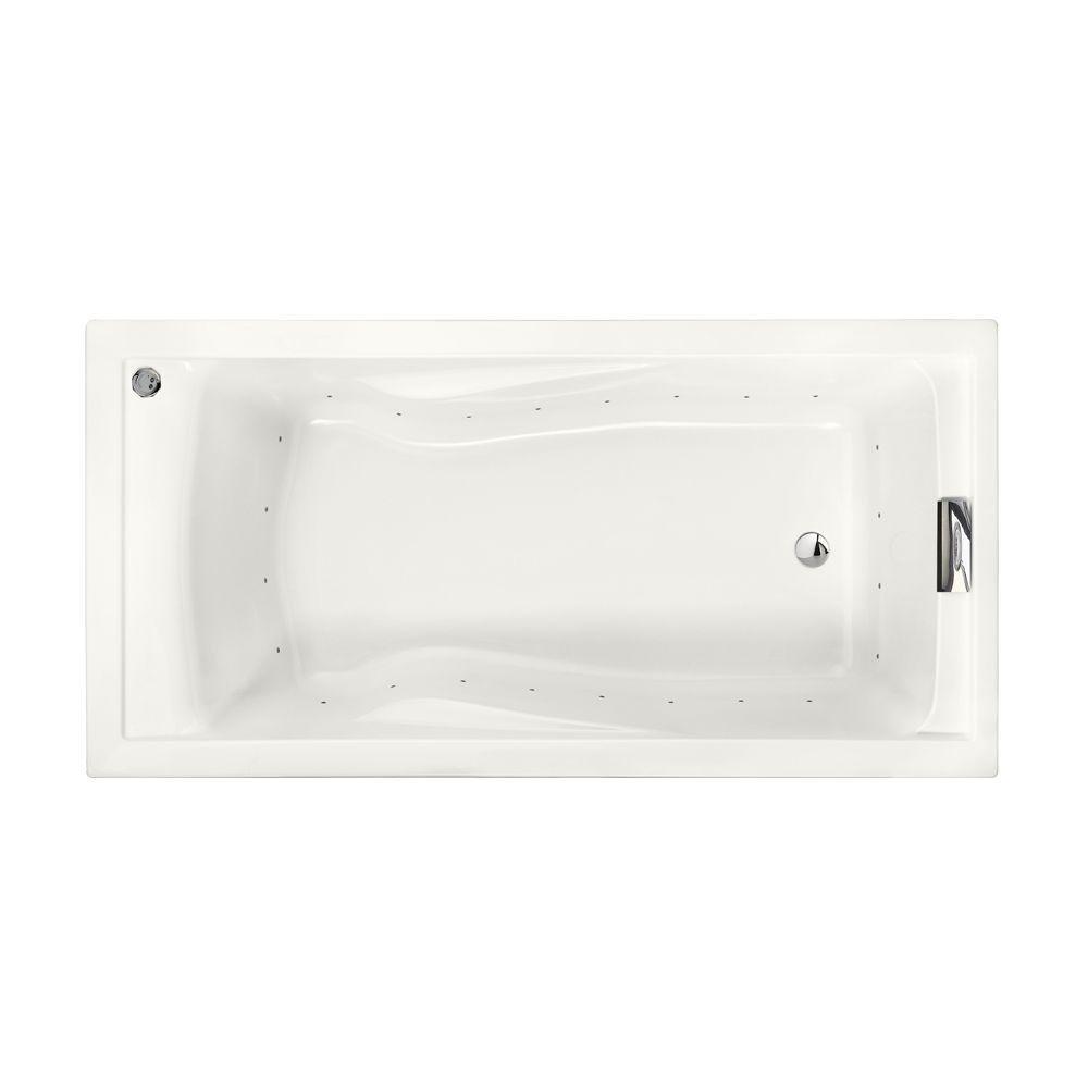 American Standard 7236068C.020 72 Inch by 36 Inch Deep Soak EverClean Air Bath Evolution