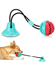 Dog Chew Toys for Aggressive Chewers, Puppy Dog Training Treats Teething Rope Toys for Boredom, Dog Puzzle Treat Food Dispensing Ball Toys for Small Large Dogs