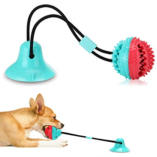 Dog Chew Toys for Aggressive Chewers, Puppy Dog Training Treats Teething Rope Toys for Boredom, Dog Puzzle Treat Food…