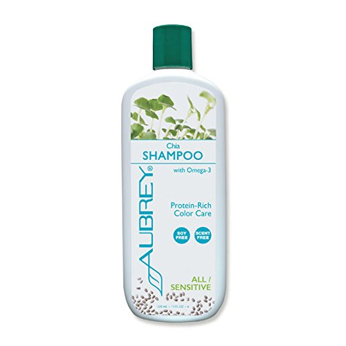 Chia Shampoo Aubrey Organics 11 oz Liquid -