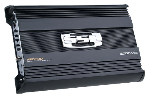 UPC 791489112697, SSL F2000M FORCE 2000W MOSFET Monoblock Amplifier with Remote Subwoofer Level Control