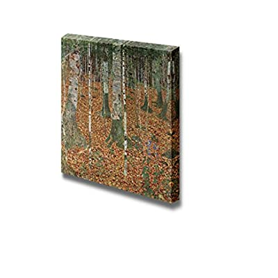 Birch Forest by Gustav Klimt - Canvas Print Wall Art Famous Oil Painting Reproduction - 16