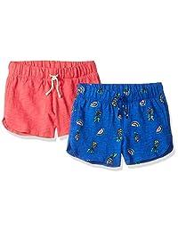 Spotted Zebra - Pantalones Cortos de Punto para niña, diseño de delfín