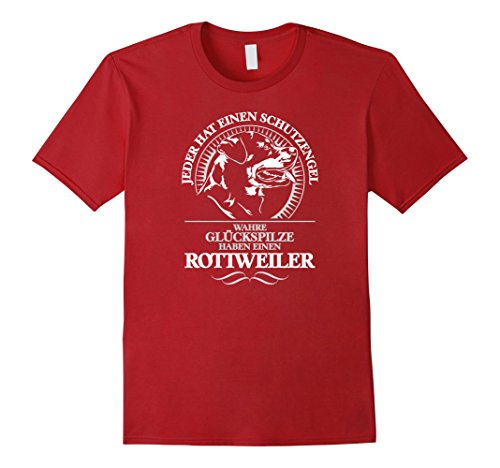 mens-rottweiler-schutzengel-hund-hunde-t-shirt-shirt-rotti-small-cranberry