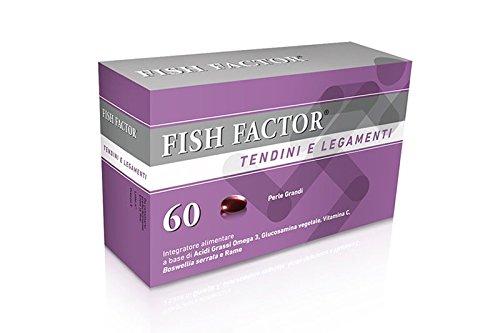 4 opinioni per fish factor tendini e legamenti