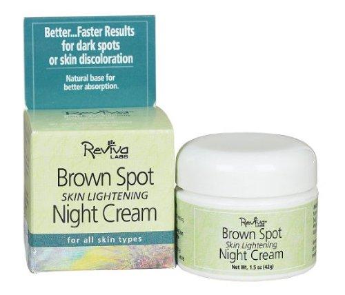- Reviva Reviva Labs - Brown Spot Skin Lightening Night Cream - 1.5 oz.