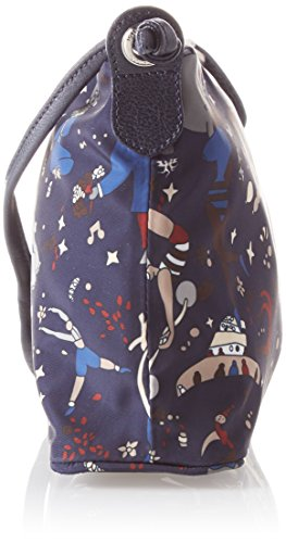 Sacs PIERO Sling Blu Bleu bandoulière Bag GUIDI qrtxwTSr