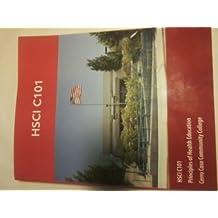 HSCI C101 Principles of Health Education