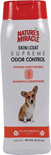 Nature's Miracle, Plum Hibiscus Scented Dog Shampoo and Cond