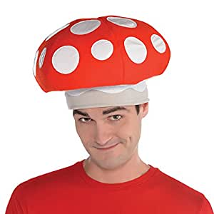 Amscan Mushroom Hat Costume Accessories