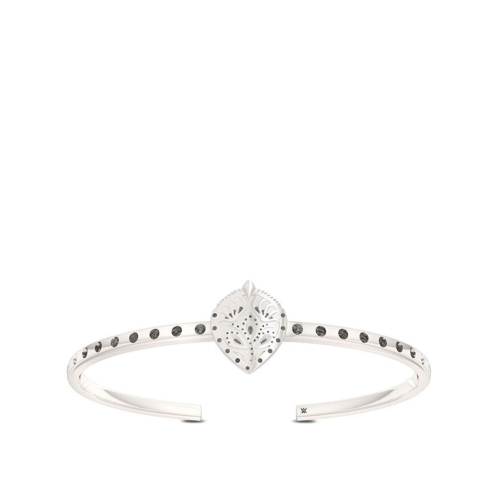 WWE Charlotte Flair Bixler Cuff Bracelet in Sterling Silver Medium