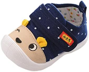 66f53ca427187 FEITONG Infant Kids Baby Boys Girls Cartoon Anti-slip Shoes Soft Sole  Squeaky Sneakers