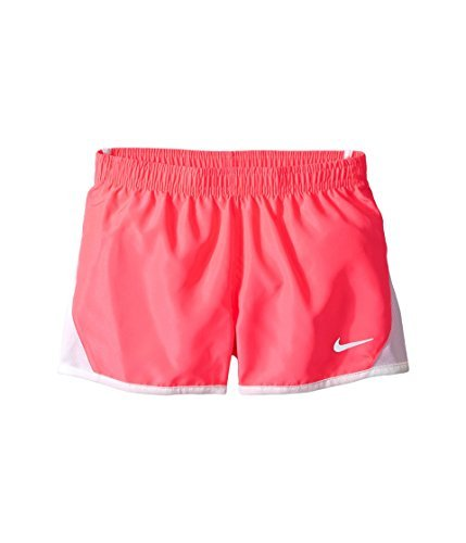 NIKE Girls' Dry Tempo Running Shorts (Racer Pink (322139-A4F)/White/Reflective Silver, 2T Toddler)