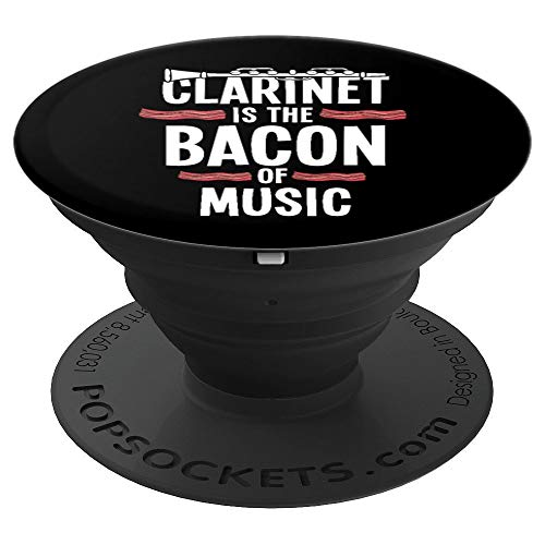 Clarinet Pop Socket - Music Musician Musical Instrument Gift - PopSockets Grip and Stand for Phones and Tablets