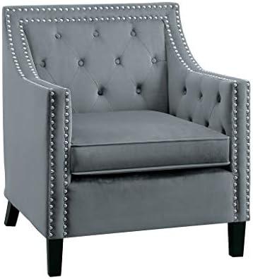 Lexicon Velvet Accent Chair