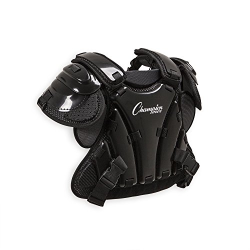 Champion Sports Umpire Chest Protector: 3 Millimeter Thick Plate Armor Softball & Baseball Equipment