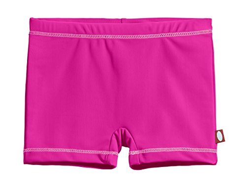 City Threads Little Girls' Swimming Suit Bottom Boy Short, Hot Pink/Pink, 6