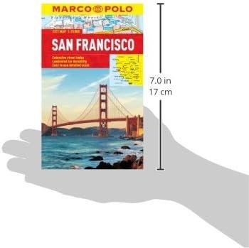 San Francisco Marco Polo City Map Marco Polo City Maps: Amazon.es ...