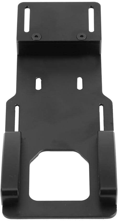 Zouminy Bater/ía de Metal o Placa de Montaje de reubicaci/ón ESC para Axial SCX10 II AX90046 RC 1//10 Accesorio para autom/óvil