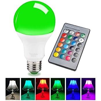 Sendida Color Changing Light Bulb E26 E27 Rgb Remote Control