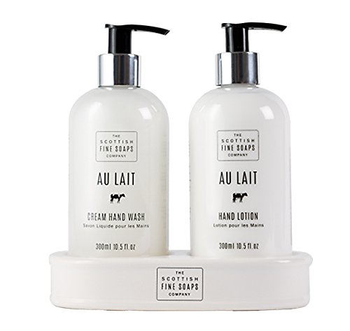 (Au Lait Hand Care Set 300 ml - Pack of)