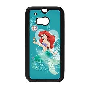 HTC One M8 Phone Case The Little Mermaid Series Elegant Cartoon Movie, Snap On Case, ECO-Friendly Packaging