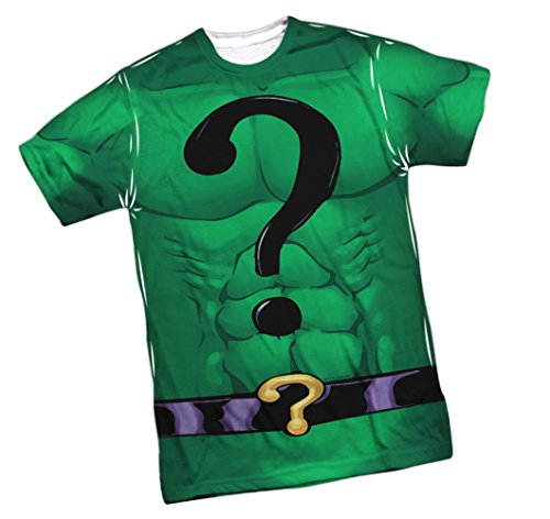 Costume -- The Riddler -- DC Comics Front