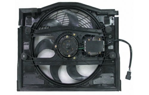 Replacement AC Condenser Cooling Fan Assembly 323i Condenser Cooling Fan