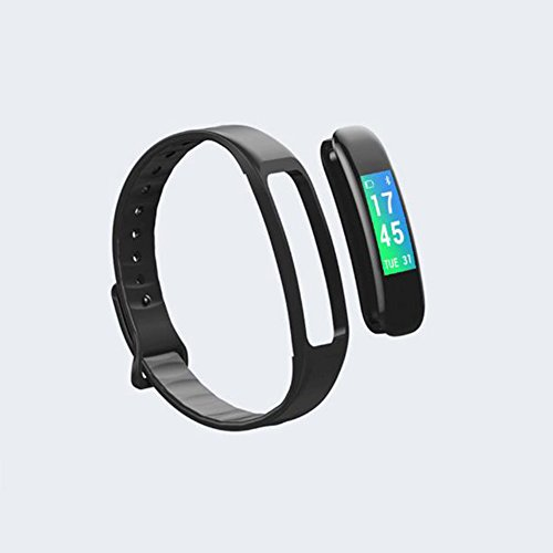 TJ Color Screen Heart Rate Blood Pressure Monitoring Smart Bracelet Bluetooth Step Counter Waterproof Multi-function Sports Bracelet by TJ