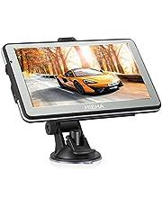 """GPS para Coches, HIEHA 7"""" Navegador GPS  Bluetooth Android Pantalla Táctil de Alta definición, Actualizaciones Gratis de mapas de por Vida"""