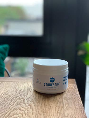 StoneStop - NO More Pain! - Kidney Stone Treatment and Prevention Drink Mix Powder - Exclusive Formula Developed by Urologists - 60 Scoops 7.4 OZ (210g)