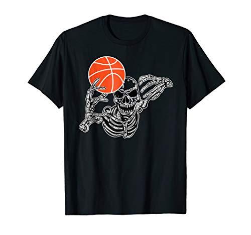 Halloween Skeleton Basketball Player Skull Hands