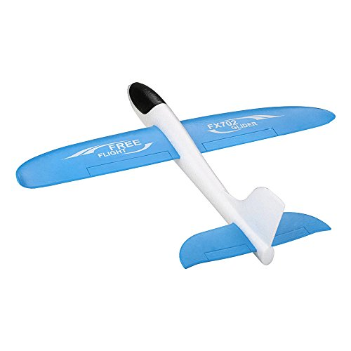 Great Assembly Rc - ZUINIUBI Throwing Glider Inertia Plane Foam Aircraft Toy Outdoor Sports Warcraft Model Assembly Airplane Toy for Kids Children Boy Gift