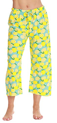 Just Love Womens Pajamas Cotton Capri Pants 6331-10387-3X ()