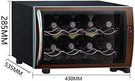 Enfriador de vino termoeléctrico pequeño - Enfriador de vino para humedad y temperatura constante de vino tinto - Congelador de cigarros con chip electrónico inteligente