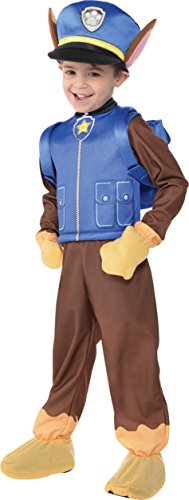 Nickelodeon Paw Patrol Chase Boys Child Halloween Costume 3-4 3T 4T