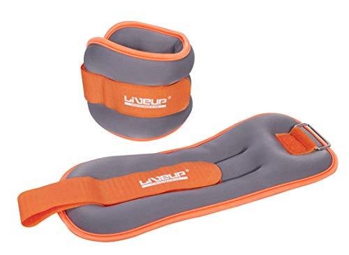 Liveup Pair Wrist/Ankle Hand/Leg Weights Adjustable Strap Fitness, Exercise, Walking, Jogging, Gymnastics, Aerobics, Gym (2.2 lbs)