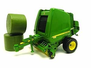 Big Farm - Prensadora para balas redondas (TOMY 42710)