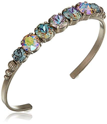Sorrelli Women's Lilac Cuff Bracelet, Purple, 2.5