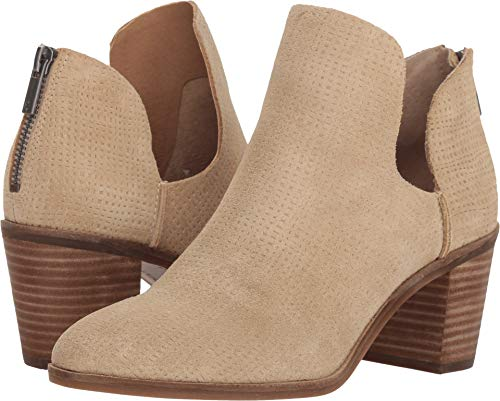 (Lucky Brand Women's Powe Ankle Boot, Travertine, 8.5 Medium US)