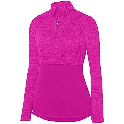 Augusta Sportswear Women's Shadow Tonal Heather 1/4 Zip Pullover